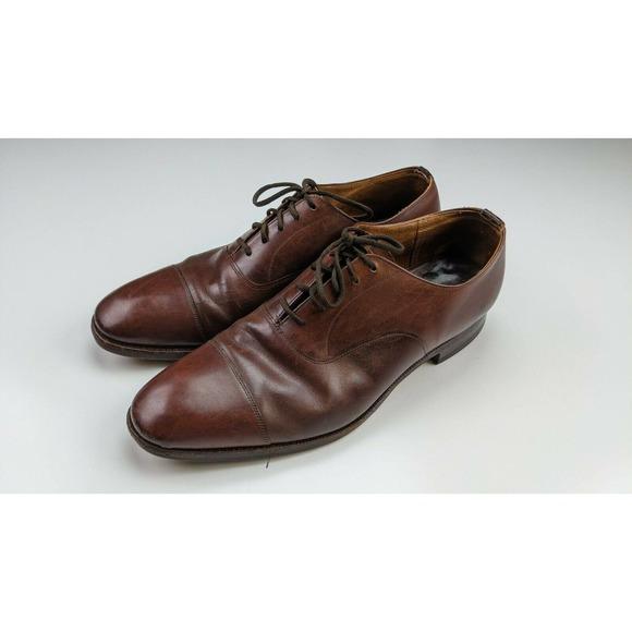 Churchs Custom Grade Brown Oxford Loafers 8.5 D
